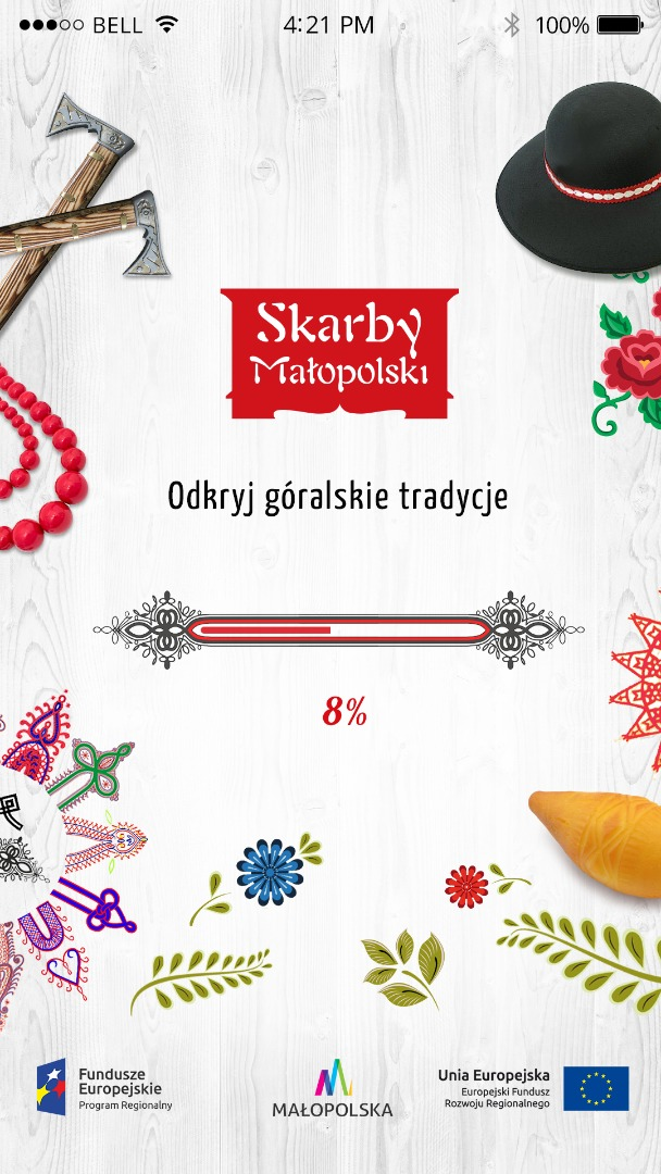 Skarby Górali - splash screen